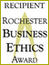Rochester Business Ethics Award