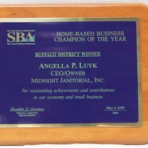 2008 SBA Award Winner – Buffalo District