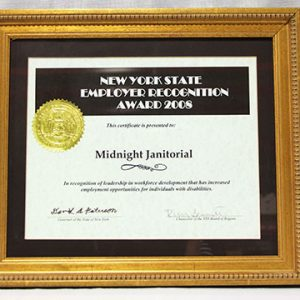 New York State Employer Recognition Award 2008