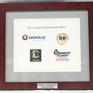 Rochester Area Business Ethics Foundation – Honor Roll 2008