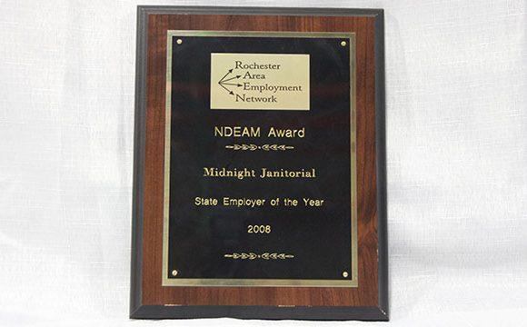 The Rochester Area Employment Network (RAEN) Award