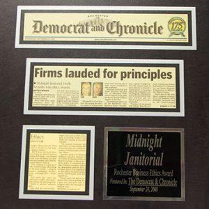 2008 Rochester Business Ethics Award Winner