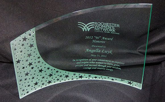 "Rochester Women's Network ""W"" Award Honoree 2012"