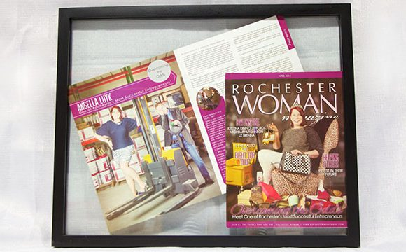 Rochester Woman Magazine Cover Feature
